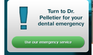 Turn to Dr. Pelletier for your dental emergency